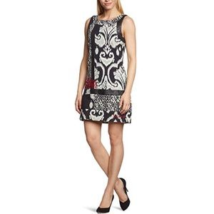 Desigual Black and White Trashion Dress Size 38